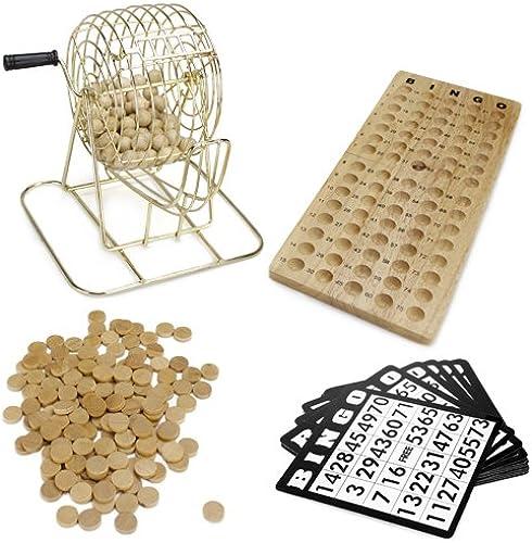 Real Suministros de Bingo Bingo de Madera Juego
