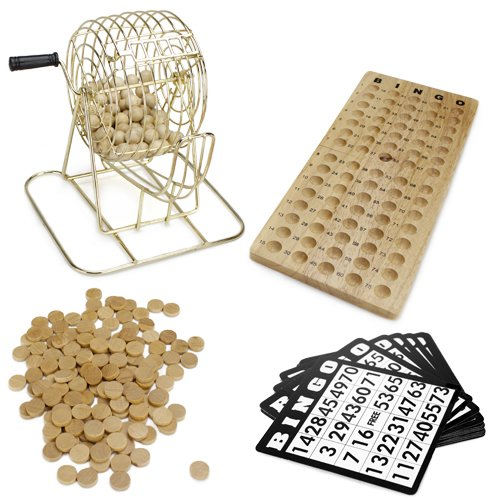 Royal Bingo Supplies Bingo Spiel aus Holz