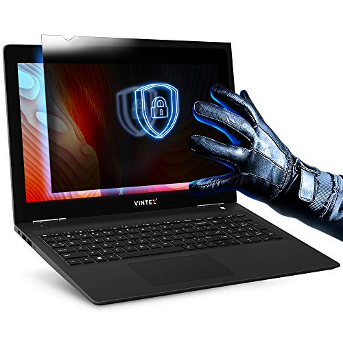 15.6 Inch (Diagonally Measured) Privacy Screen Filter - Anti-Scratch, Anti-Glare Protector for Widescreen Laptops by VINTEZ