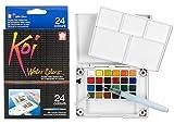 Sakura Finetek Koi acqua Colori tasca Campo Sketch Box-24 Colori