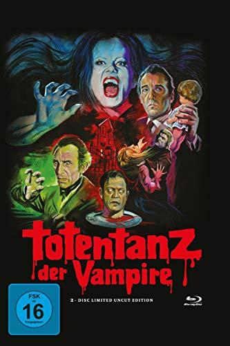 Totentanz der Vampire - Wattiertes Mediabook - 2 Discs (DVD + Blu-ray) + Poster - Limited Edition