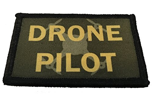 Drone Pilot Morale Patch 2x3' Hook and Loop Made in The USA