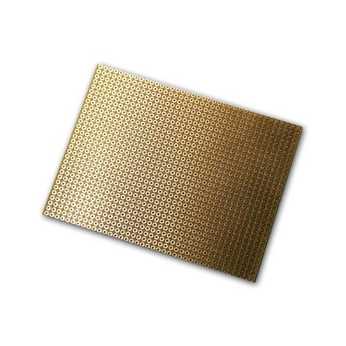 Platine 75x100 mm Lochrasterplatine Kupfer RM2,54