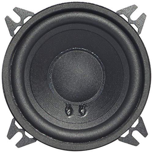 """1 WOOFER CIARE CW100Z Altavoz Mid Bass 10,00 cm 100 mm 4"""" diámetro 40 vatios rms 80 vatios MAX impedancia 4 ohmios Puertas de Coche suspensión de Goma Negro, 1 Pieza"""