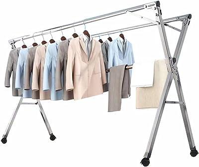 topmodelss 折りたたみ式 洗濯物干し 室内 室外 コンパクト収納 簡単組立 ステンレス製