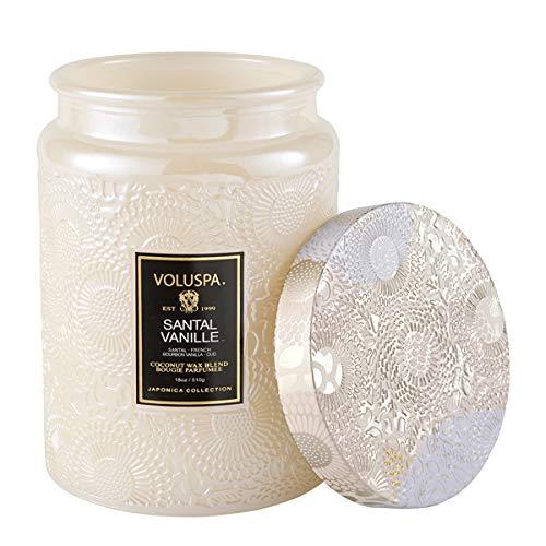 Voluspa Vanilla Sandalwood Scented Candle