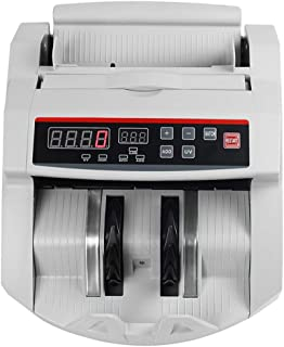 FTUGSJF-dcj Money Counter with UV Detection,LED Display,Batch Modes,Bill Counters Machine with Counterfeit Bill Detector,Professional Cash Counting Machine