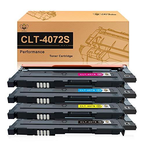 CMYBabee Cartucce di toner compatibili per Samsung CLT-4072S per Samsung CLP-320 CLP-325 CLP-320N CLP-320W CLP-325N CLP-325W CLX-3180 CLX- 3180FN CLX-3185 CLX-3185F CLX-3185FN CLP-3185FW (4 pacchi)