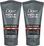 Dove Men+Care Face Scrub, Deep Clean Plus, 5 Ounce (Pack of 2)