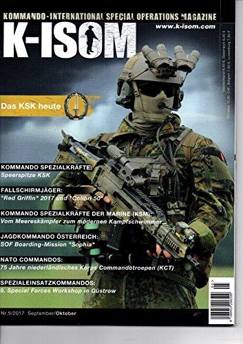 K-ISOM 5/2017 KSK NATO SEK KSM Fallschirmjäger Bundeswehr Marine Luftwaffe