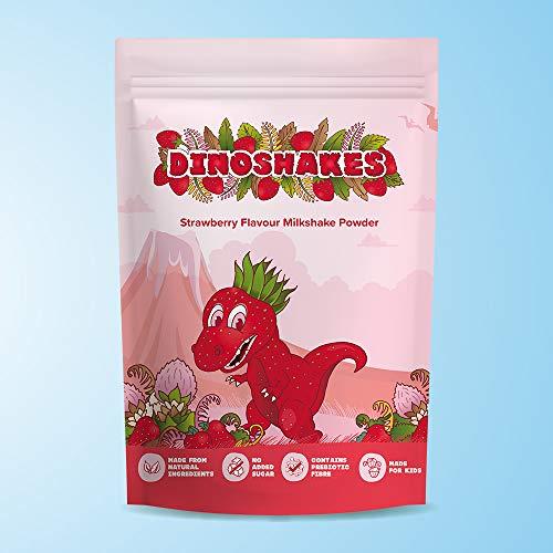 Italian Beverage Company Dinoshakes Strawberry Milkshake Powder - Pack of 2