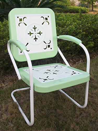 4D Concepts 71340 Metal Retro Chair