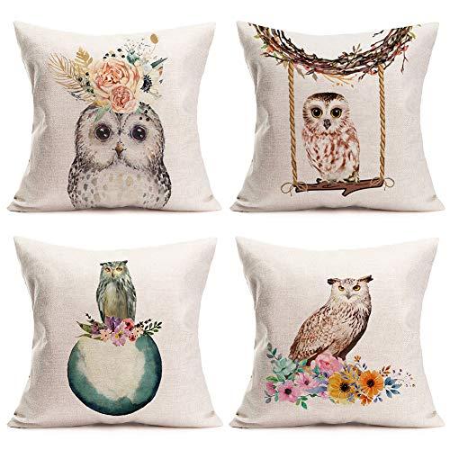 Cotton Blend Pillow Covers