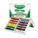Watercolor+Wood+Pencil+Classpack%2c+3.3+mm%2c+12+Asstd+Clrs%2c+240+Pencils%2fBox