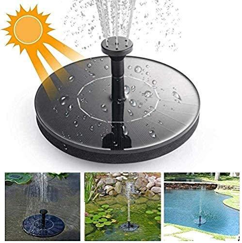 en Plastique Mini réservoir d'eau Solaire Pompe Flottante Fontaine Piscine décoration Jardin extérieur étang, Jardin, Aquarium, Aquarium