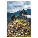 artboxONE Poster 30x20 cm Natur Machu Picchu - Peru
