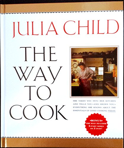 The Way to Cook By Julia Child with *Bonus DVD Set* - The Way to Cook 6 Part Series on 2 Dvds!