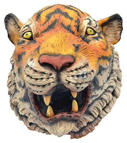 Bristol Novelty BM475 - Máscara de Tigre Realista (Talla única)