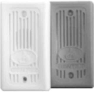 Gentex GX93-W Fire Evacuation, 12VDC/24VDC Remote Mini-Horn for Supervised Systems - Off-White Faceplate