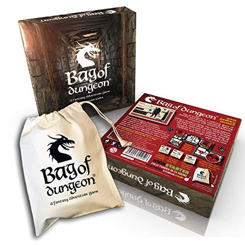 Bag of Dungeon – ein Fantasy-Abenteuer-Brettspiel für 1-4 Personen
