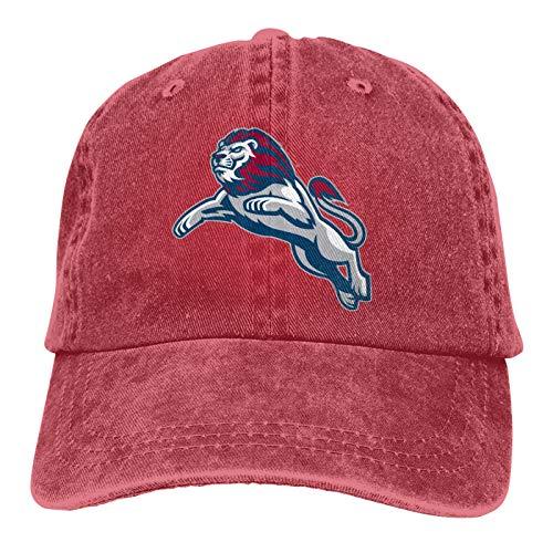 Lmu Loyola Marymount University Lions Casquette Classic Cowboy Hat Adjustable Baseball Cap Red