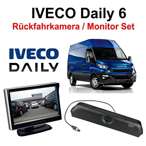 Ampire Rückfahrkamera Monitor Set für Iveco Daily 6 ab 2014