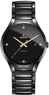 Rado R27056712 True Automatic Mens Watch - Black Dial