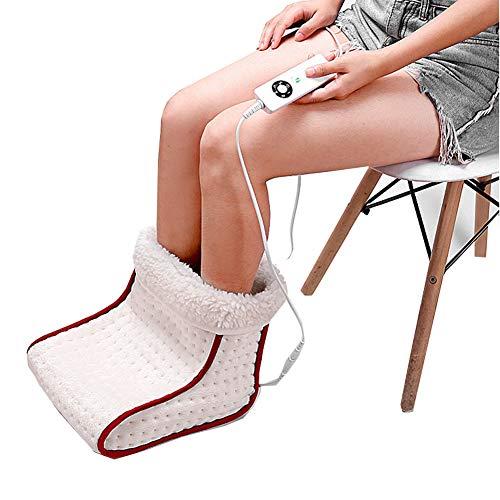 SqSYqz Electric Feet Warmers, Heated Foot Warmer – Portable Heating Foot Warmer, Poor Circulation, Neuropathy, Arthritis, Back, Waist, Menstrual Cramps
