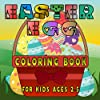 Easter Egg Coloring Book for Kids Ages 2-5: An Activity Book for Kids / Beutiful Easter Egg Hunt Coloring Pages / For Creative Time Spending for Your Child / My First Scissor Skills / Start Color and Cut Practice With Your Toddle