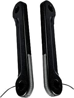 Alloy Art Black LED Front Turn Signals SGFS-2