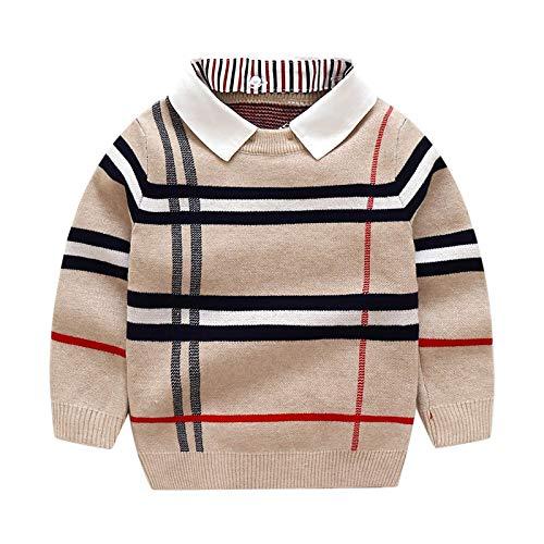 Moda Sudaderas Jersey Sweater Ropa Otoño Invierno Cálido Pulóver Top Manga Larga Suéter Liso Moda De Punto Traje De Caballero 6 2