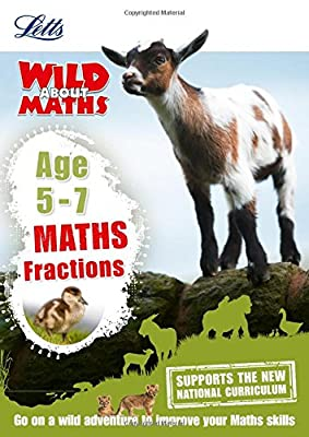 Maths ? Fractions Age 5-7 (Letts Wild About) from Letts