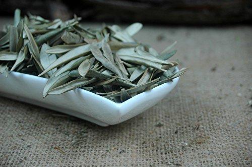 Naturix24 – Olivenblättertee, Olivenblätter ganz - 100g