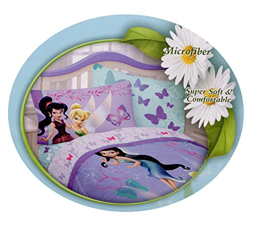 Disney Fairies Campanilla 'brillante amigos' funda de almohada