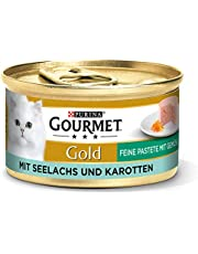 PURINA GOURMET Złota delikatna pasztet, mokra karma dla kotów, różne rodzaje, opakowanie 12 sztuk (12 x 85 g)