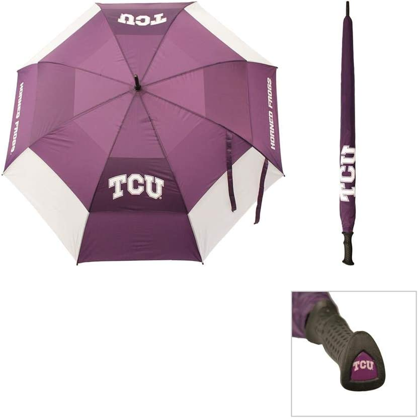 Team Golf Max 60% OFF NCAA quality assurance TCU Horned with Umbrella Protectiv Frogs 62