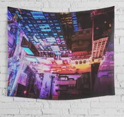 New York City Runner Tapiz De Pared Toalla De Playa Manta De Tiro Picnic Yoga Mat Decoración del Hogar Toalla Alfombra Manta Colchón Tapiz De Pared Yoga Shawl Mat-59.1_ × _82.7_Inches