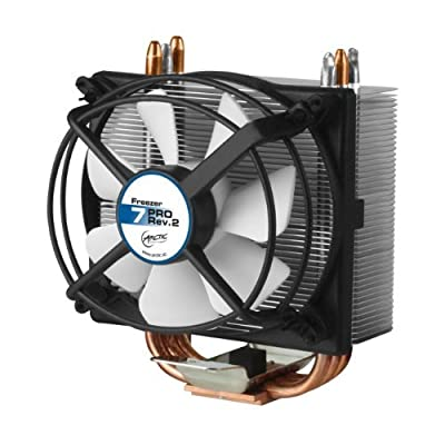ARCTIC Freezer 7 Pro - Compact Multi-Compatible Tower CPU Cooler, 92 mm PWM Fan, for AMD and Intel, Recommended up to 115 W TDP