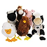 The Puppet Company Farm Finger Puppets Set of 6