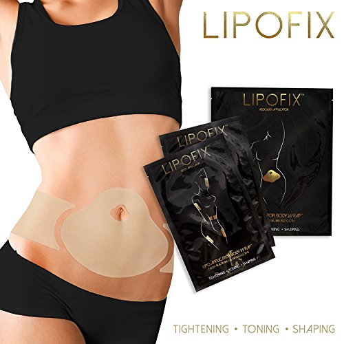 Applicateur LipoFix Ultimate Body Wrap Lipo, il fonctionne pour la mise en forme raffermissante de la perte de pouce (12 enveloppes (ensemble))