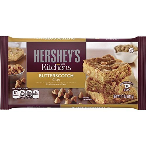 HERSHEY'S Kitchens Butterscotch Chips, baking supplies, 11 Ounce (Pack of 12)