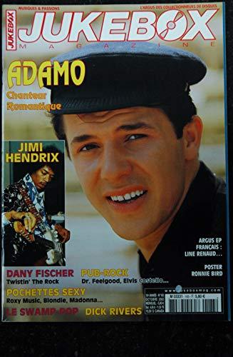 JUKEBOX 183 * 2002 * ADAMO JIMI HENDRIX DANY FISHER DICK RIVERS