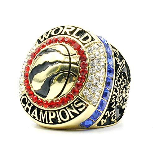 Fei Fei NBA 2019 Toronto Raptors Championship Ring Anillos de Campeonato, Campeones Anillo de réplica para Aficionados del Recuerdo de la colección del Regalo,Without Box,11