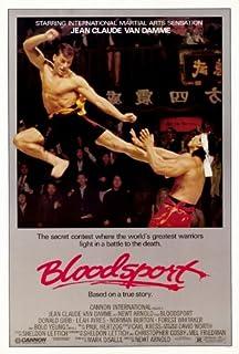 Pop Culture Graphics Bloodsport Poster Movie 11x17 Jean-Claude Van Damme Leah Ayres Roy Chiao Donald Gibb