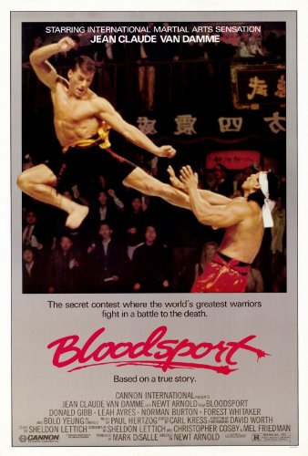 Bloodsport Poster Movie 11x17 Jean-Claude Van Damme Leah Ayres Roy Chiao Donald Gibb