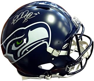 Richard Sherman Signed Seattle Seahawks Riddell Football Helmet - Autographed NFL Football Helmets
