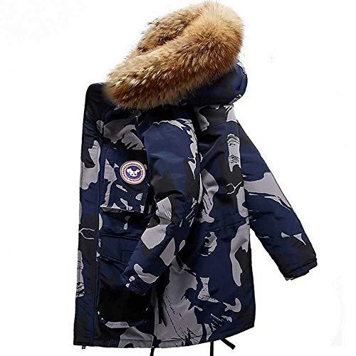 Daunenjacke Hohe Qualität -40 Celsius Daunenjacke Warm halten Herren Winter dicken Schnee Parka Mantel Camouflage Weiß Schwarz Ente