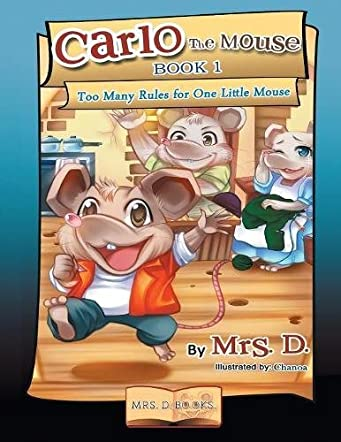 Carlo the Mouse, Book 1