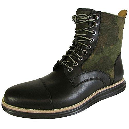 Cole Haan Mens Lunargrand Lace Snow Boot Shoe, Forest Camo Sde, US 7