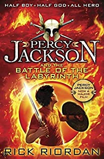 Percy Jackson and the Battle of the Labyrinth by Rick Riordan - Paperback